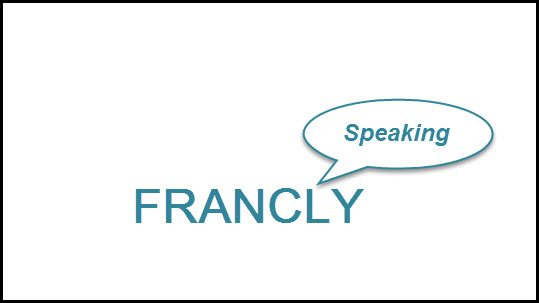 """""""Francly Speaking"""" this indicator suggests Gold is to head lower!"""