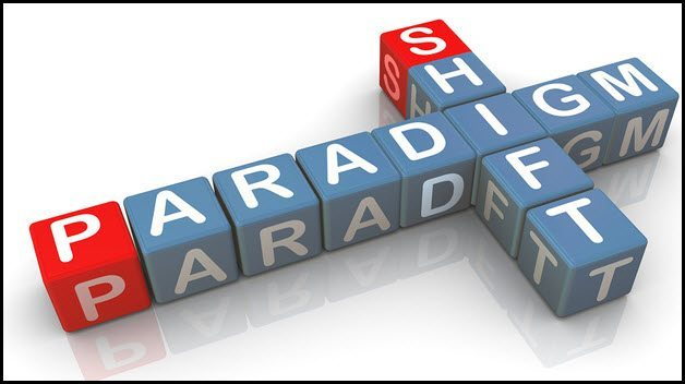 Paradigm Shift in play… S&P about to under perform?