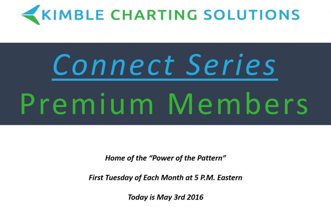 Connect Series Webinar May 3, 2016