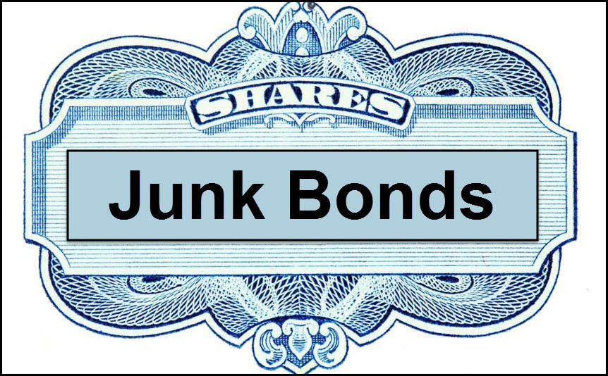 Junk Bonds, What happens here, important for stocks!