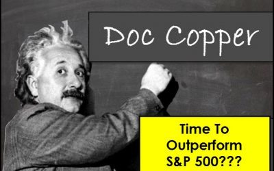 Doc Copper; Time for it to out perform the S&P 500?