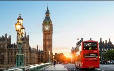 London; Breaking support of bearish rising wedge?